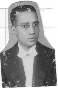 Alberto Guerreiro Ramos na juventude.