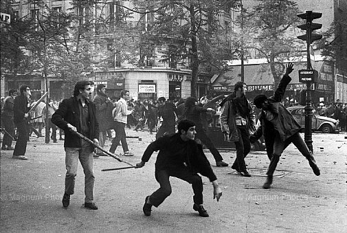 Maio de 1968 em Paris