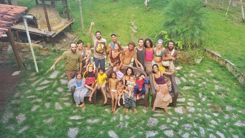 Aldeia Ecovila Coletivo de Famílias