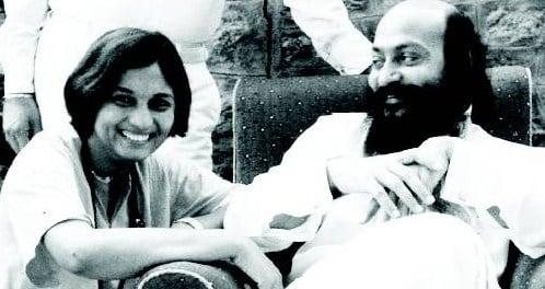 Ma Anand Sheela e Bhagwan Shree Rajneesh