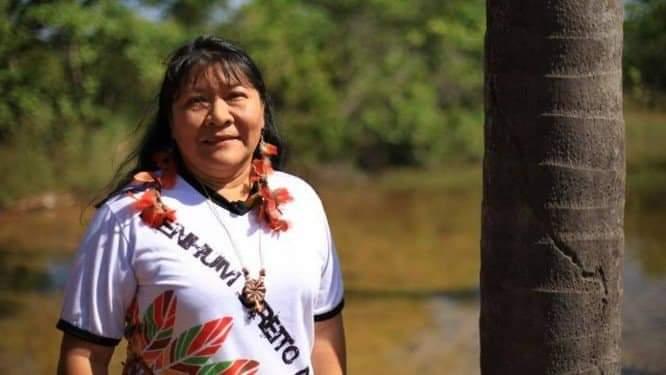 Primeira mulher indígena eleita deputada federal no Brasil, Joana Wapixana (Rede)