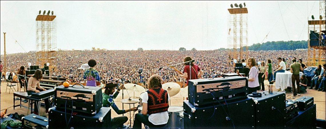 O Bando no Festival Woodstock: Joe Cocker no palco